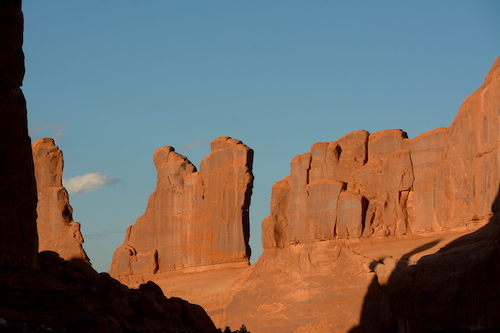 Park Ave in Arches NP.