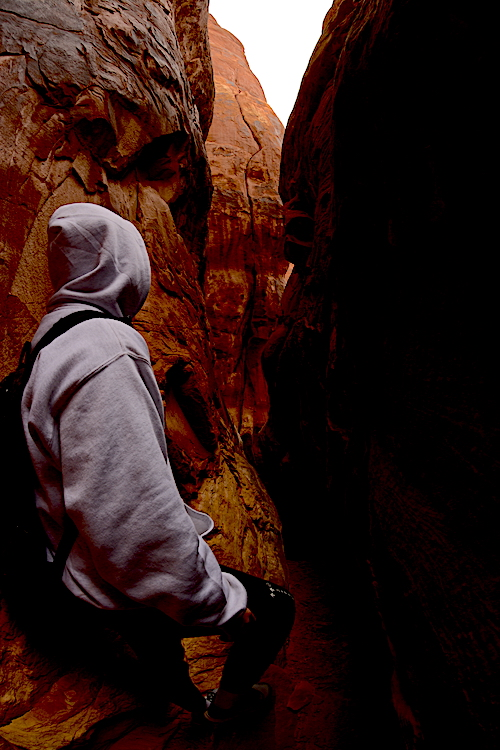 Slinking through the Fiery Furnace, checking out leads, which often led to dead ends.