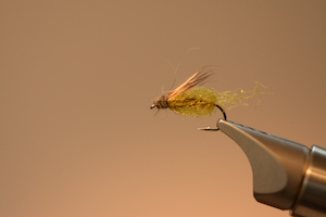 """LaFontaine's classic Emergent Sparkle Pupae. Fish this pattern when dries are flying about and people will ask, """"How are you catching those fish?"""""""
