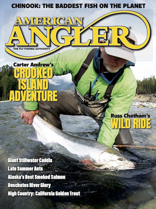 The final cover of American Angler, July 2020.